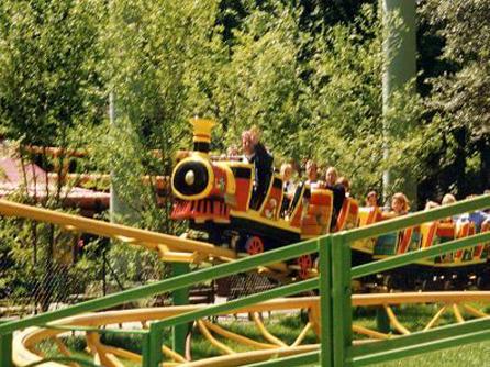 """Achterbahn """"Fun-Express"""""""