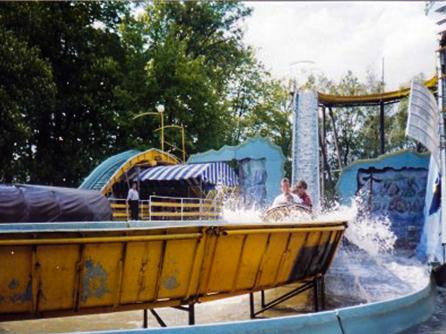 """Wildwasserbahn """"Wild River"""""""
