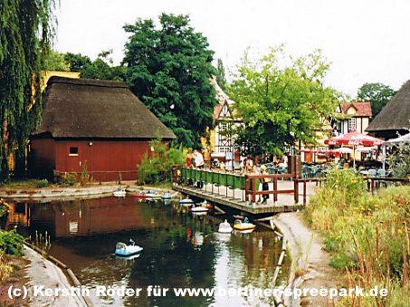 spreepark-plaenterwald-fernlenkboote-krokodil-teich